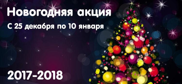 Новогодняя акция 2017-2018